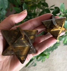 Tiger Eye Merkaba for higher insight