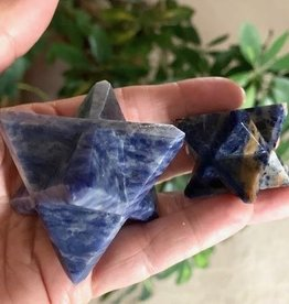Sodalite Merkaba for  elevating intuition
