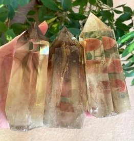 Smoky Citrine Phantom Generator charged in the Oct New Moon