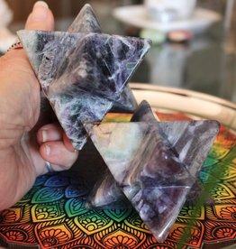 Fluorite Merkaba for powerful connection