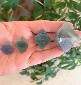 Fluorite Octahedrons for finding your soul's path