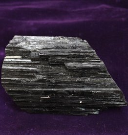 Black Tourmaline Rough for Protection