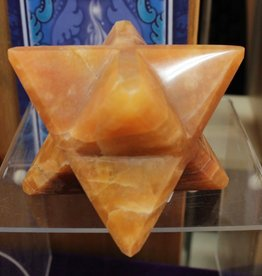 Himalayan Gold Quartz Merkaba for luscious sensuality