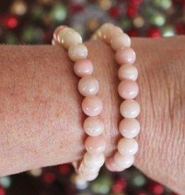 Crystal Bracelet Pink Opal