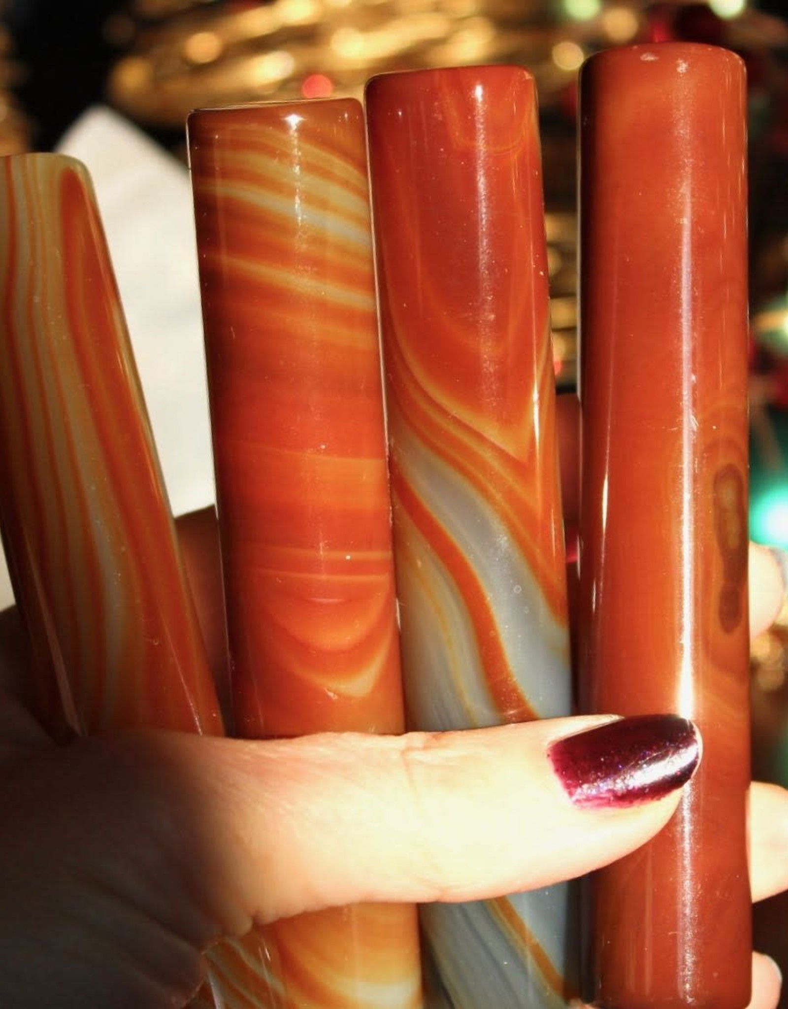 Agate Wands for stability
