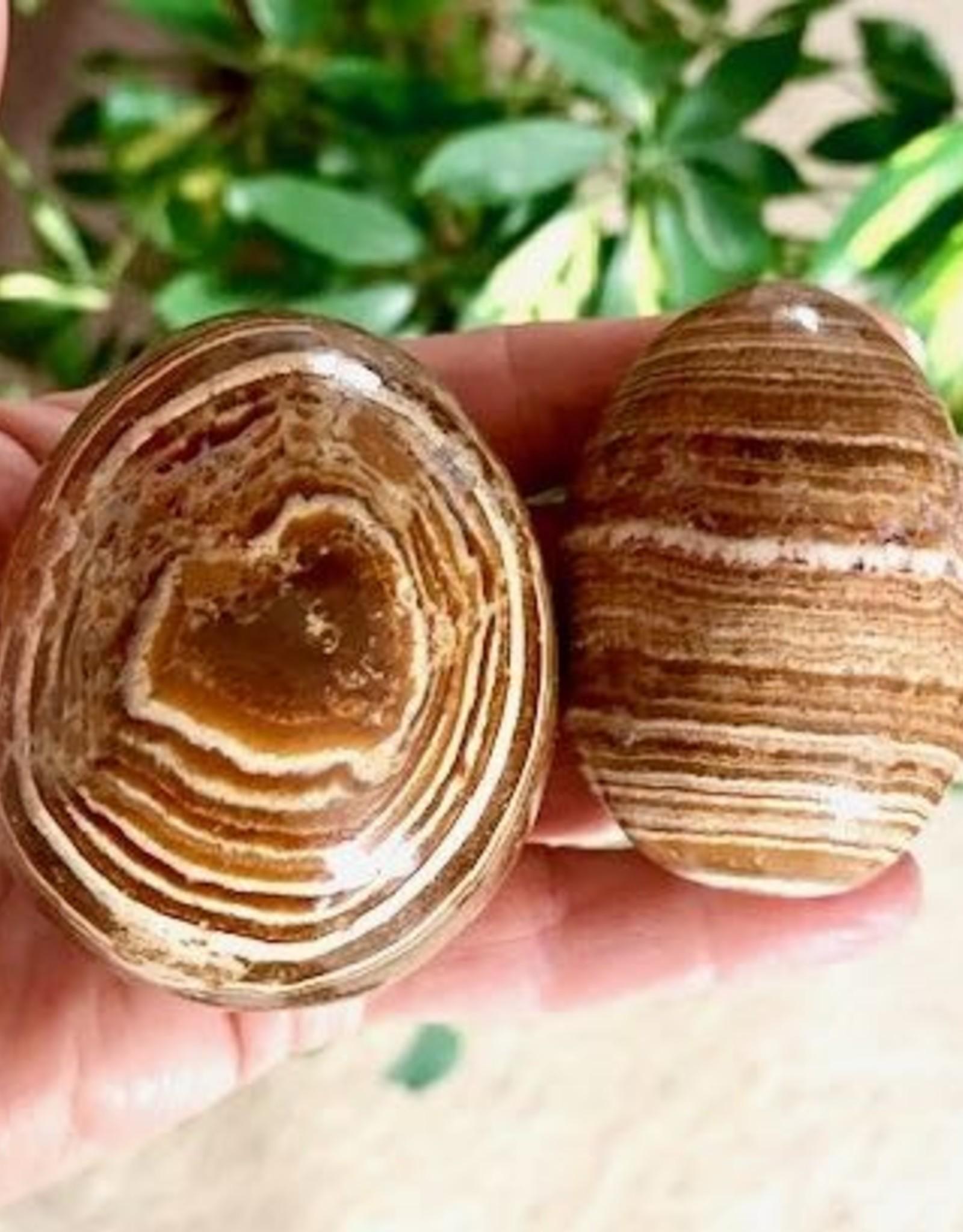 Aragonite Eggs for gentle release
