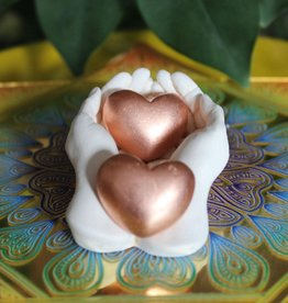 Copper Hearts for conducting love energy
