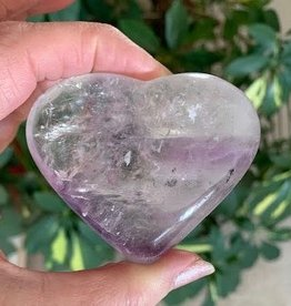 Amethyst Heart for peace and connection