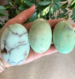 Chrysoprase Touchstones filled with compassion and love