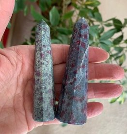 Ruby Kyanite 8-sided Towers for passion and communications