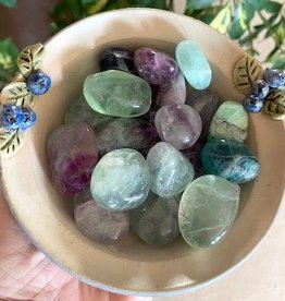 Fluorite Tumbled for soul's guidance