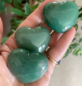 Aventurine Hearts for emotional abundance