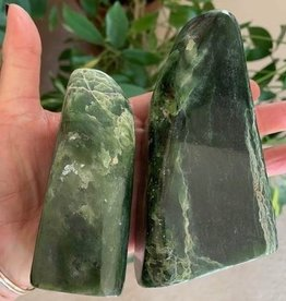 Jade Freeform for strength and luck