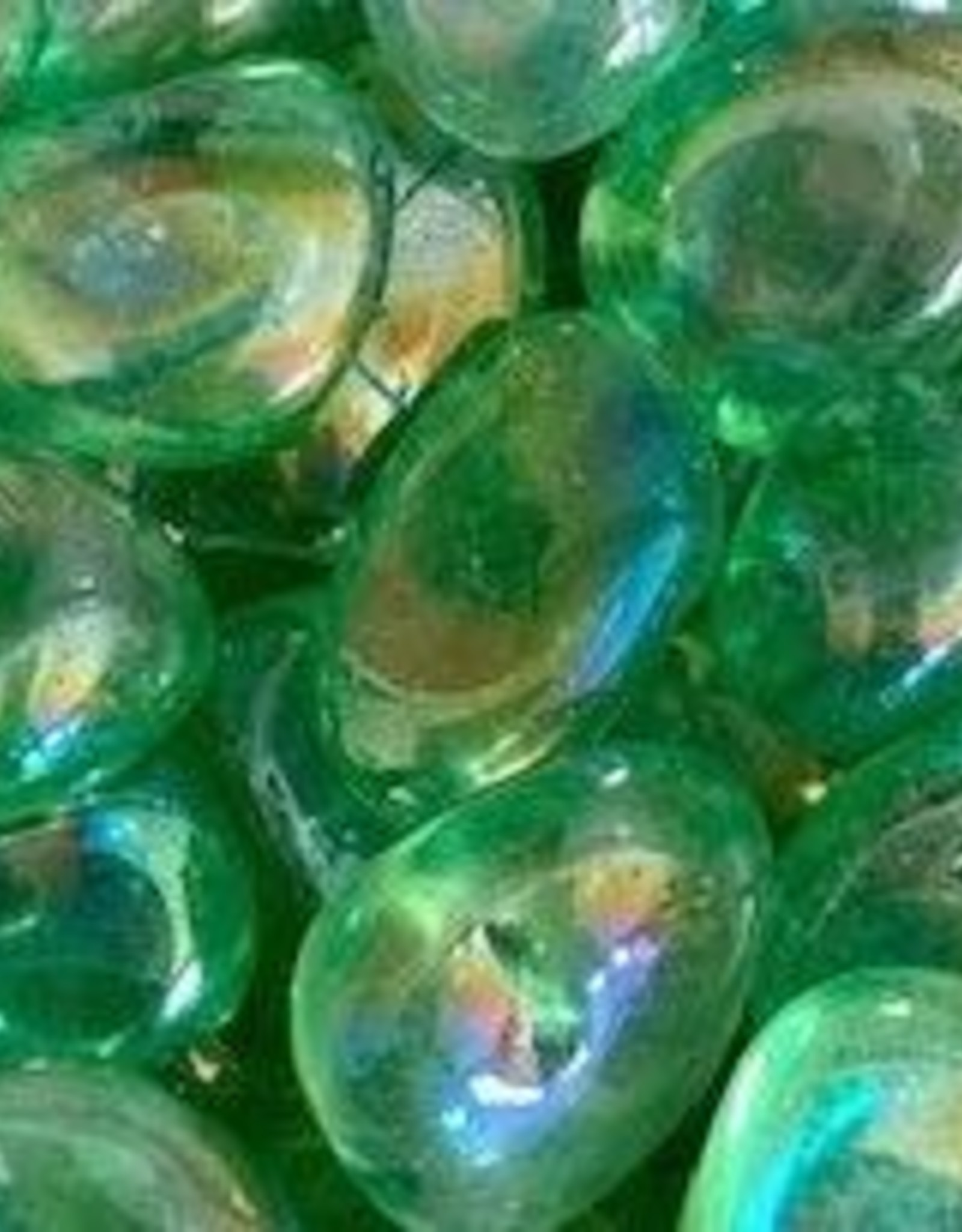 Green Apple Aura Tumbled Charged in March Full Moon