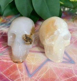 Carnelian Skull for mental vitality