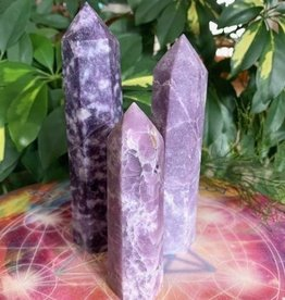 Lepidolite Generators for elevated healing