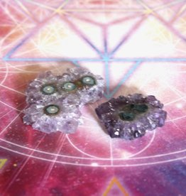Amethyst Stalactite Cluster for deep peace