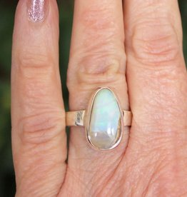 Boulder Opal Rings for earth and fire