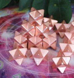Copper Merkabas for energy ascension