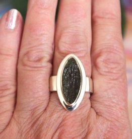 Moldavite Rings for spiritual growth