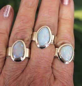Australian Blue Opal Ring for inspiration  size 6.5