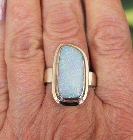 Australian Blue Opal Ring for inspiration  size 10