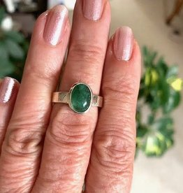 Emerald Ring for deep love