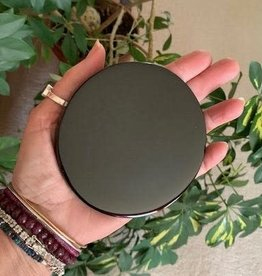Black Obsidian Scrying Mirror for intuitive visions
