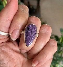 Charoite Rings for Violet Ray integration
