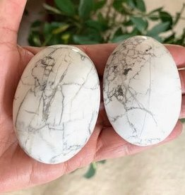 Howlite Touchstones for patience