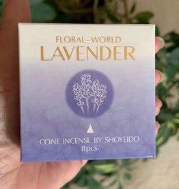 Floral World Incense Cones
