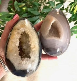 Druzy Agate Portal Eggs for powerful new energy
