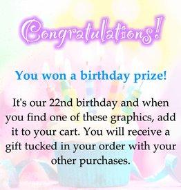 Congratulations! You won!