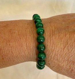 Crystal Bracelet - Malachite (Synthetic)