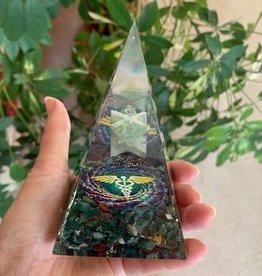Amazonite Merkaba Healing Orgonite