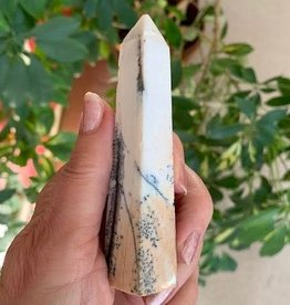 Dendritic Agate Obelisk for stability
