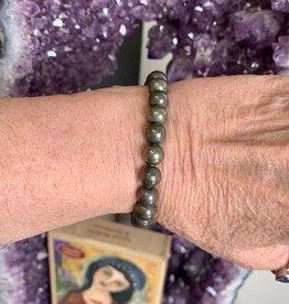 Crystal Bracelet -  Pyrite
