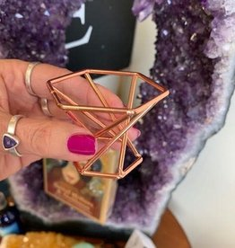 Copper Sphere Holder