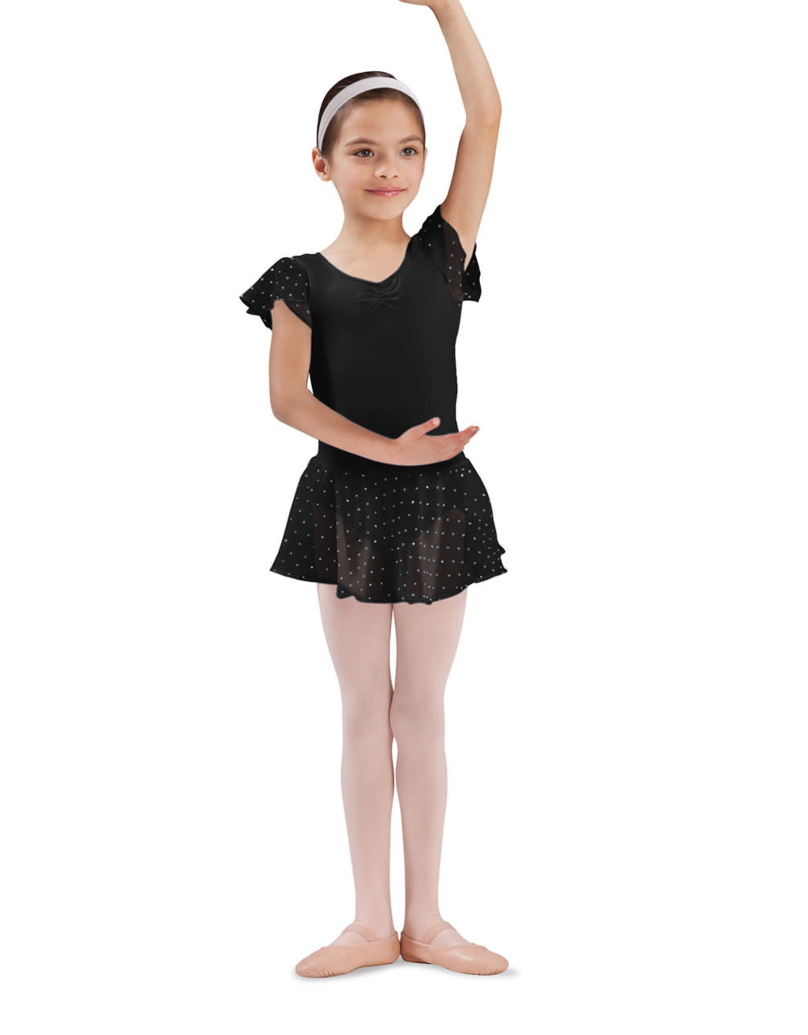 Bloch / Mirella Georgette sequin skirt (CR5161)