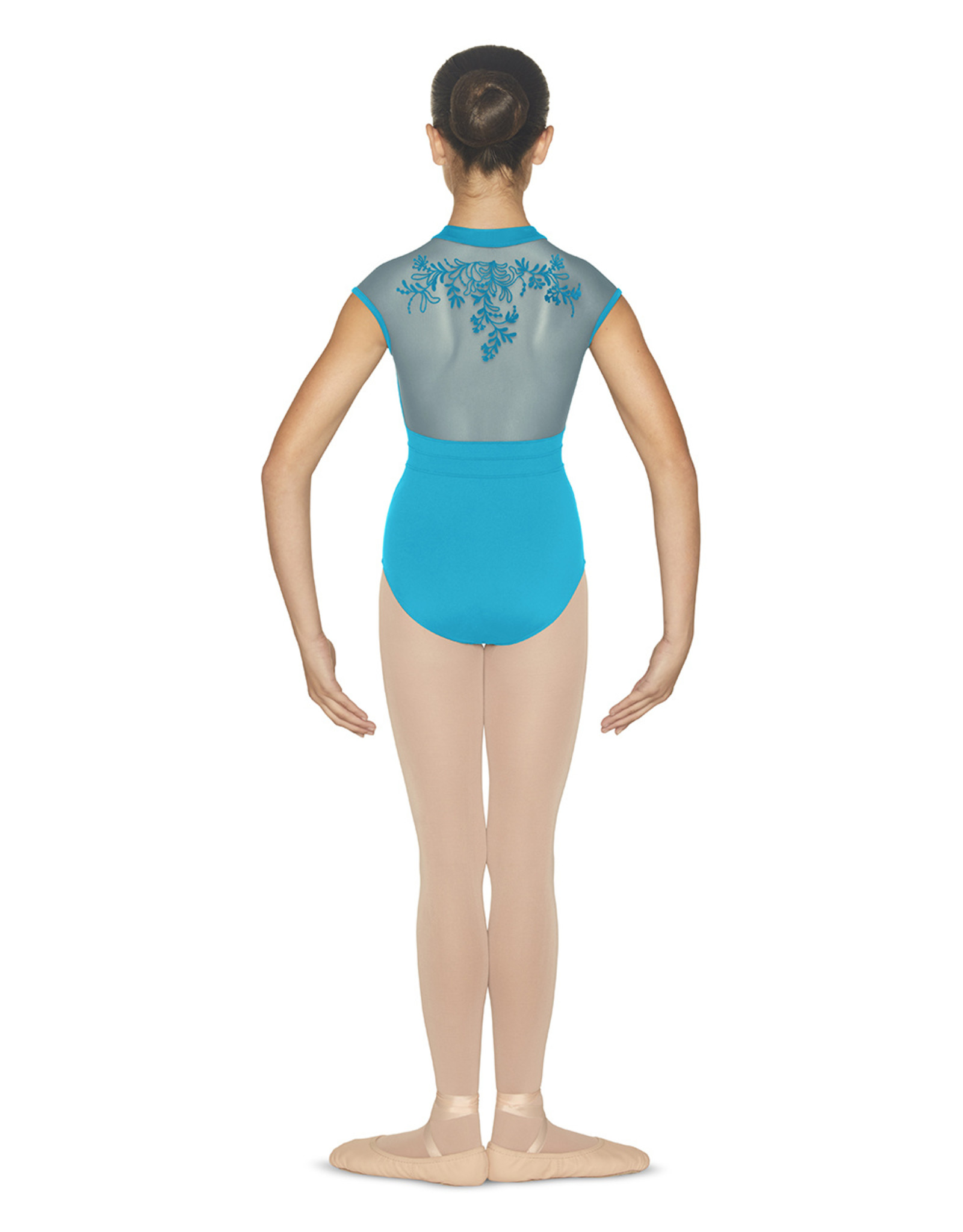 Bloch / Mirella Zip front cap sleeve (CL4892)