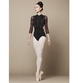 Bloch / Mirella Zip front 3/4 sleeve (L9909B)