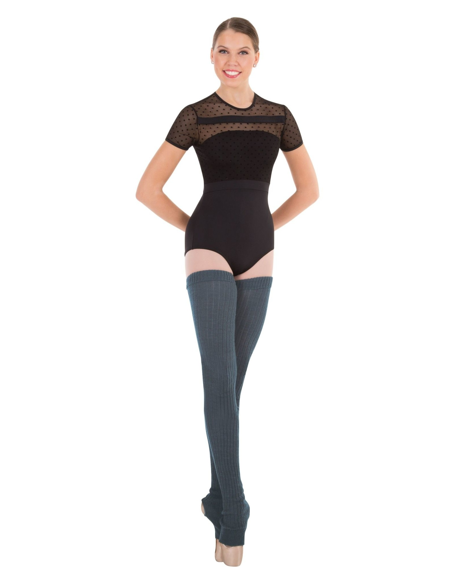 Body Wrappers Extra-Long Stirrup Leg/Thigh Warmers (92)