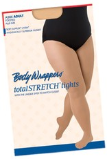 Body Wrappers Plus Size Basic Woman's Footed Tights (A30X)