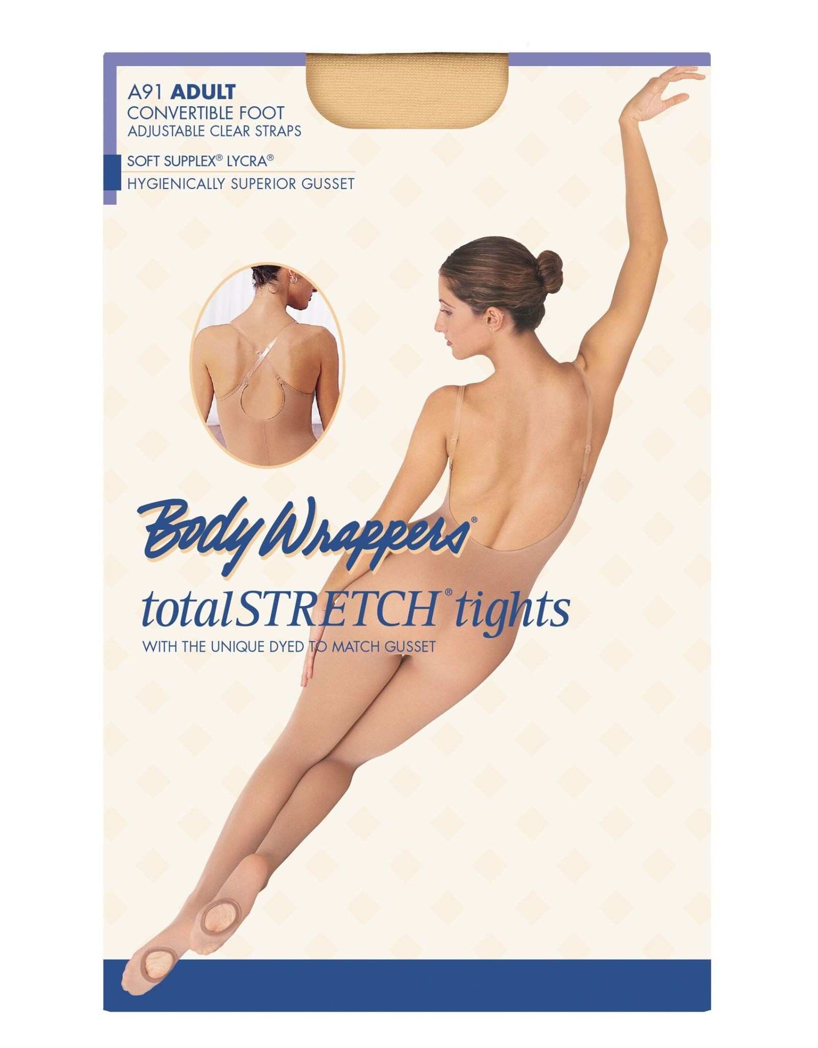 Body Wrappers Adjustable Body Tights (A91X)