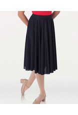 Body Wrappers Dance Below-The-Knee Circle Skirt (0511)