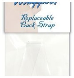 Body Wrappers Detachable Back Strap - Clear (003)