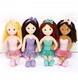 Dasha Designs Ballet Doll - Dark Brown (6280D)