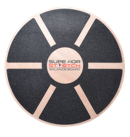 Superior Stretch Round Wood Balance Board