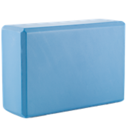 "Superior Stretch Foam Yoga Block 9""x6""x3"" Blue"