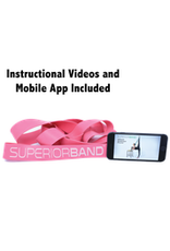 Superior Stretch Latex Stretch Loop Band – Pink